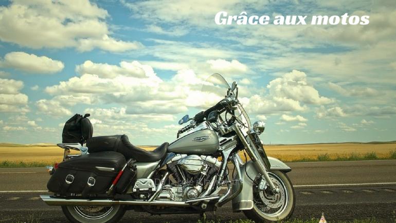 Apprendre les couleurs avec des motos…