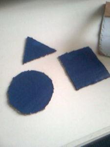 Puzzle des formes fait maison