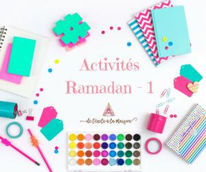 activités ramadan