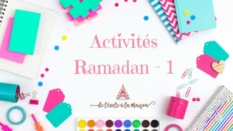 Partage d'activités autour du ramadan #1