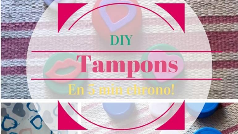 DIY – Des tampons à moins d'un euro!
