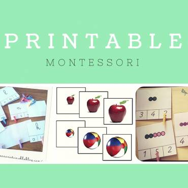 #1 Documents Montessori – A télécharger