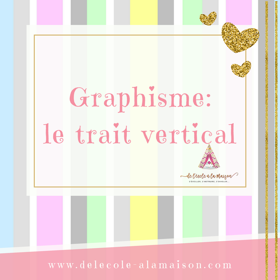 Graphisme – Le trait vertical