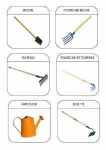 outils jardinier