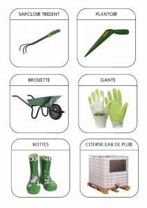 outil jardinier