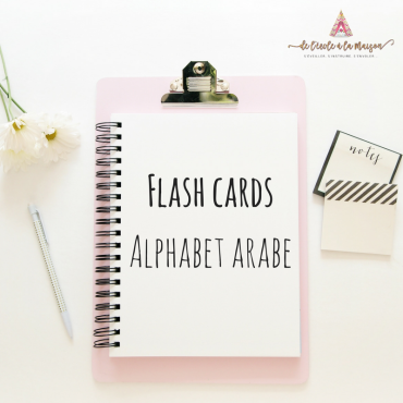 Flash cards – alphabet  arabe