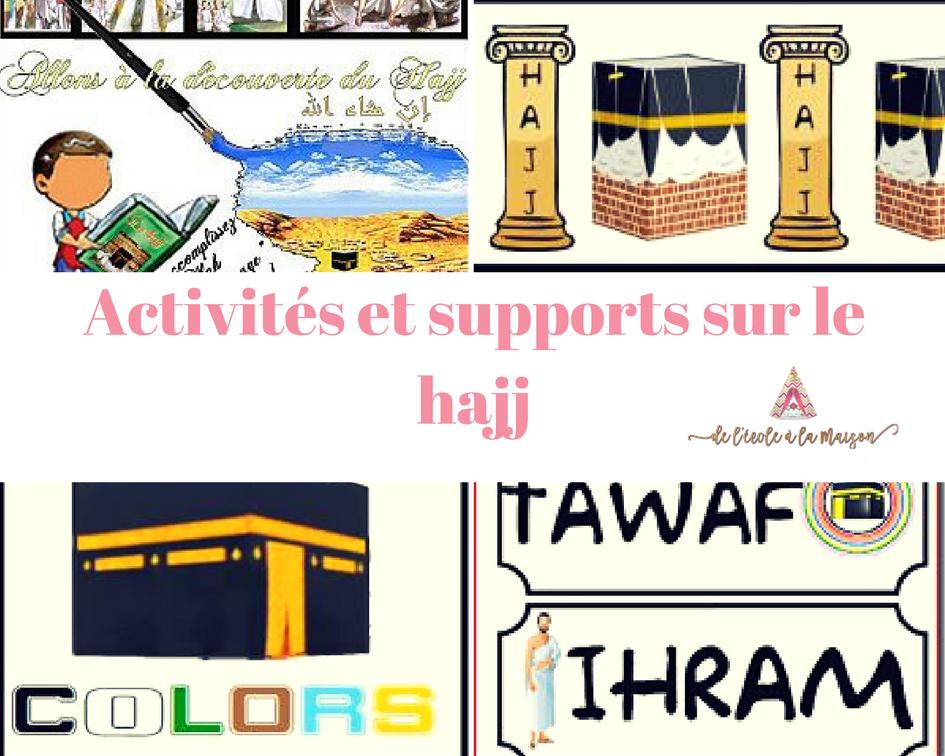 Activités et supports sur le hajj