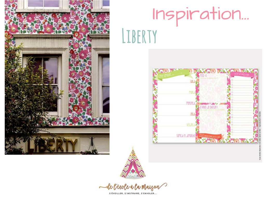 Freebies : Inspiration Liberty…