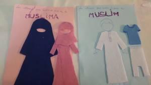vêtements petit musulman