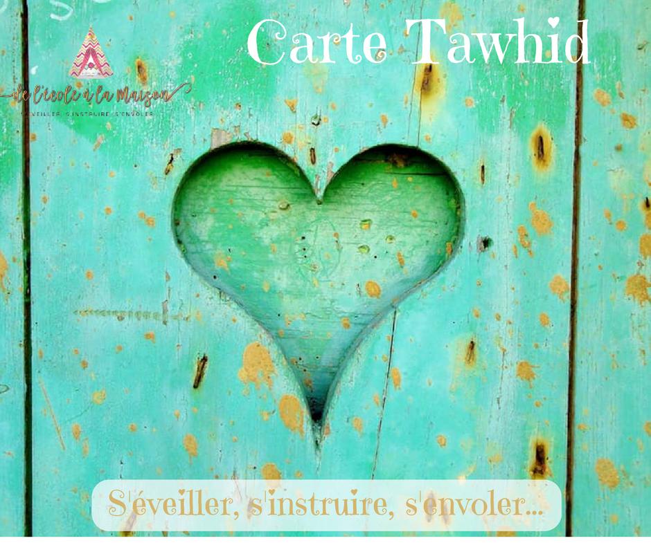 Petites cartes Tawhid