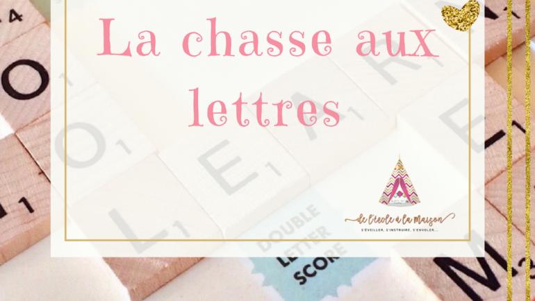 La chasse aux lettres