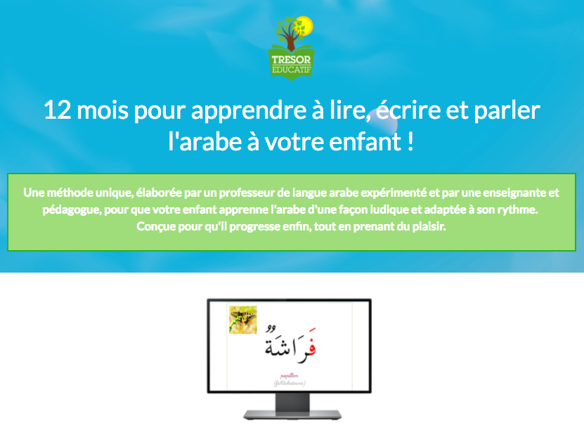 Programme Arabe Trésor Educatif