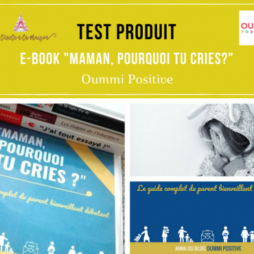"""Maman, Pourquoi tu cries?"" E-book de Oummi Positive"