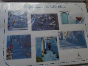 maroc ville bleue