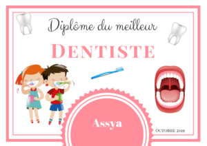 diplome dentiste