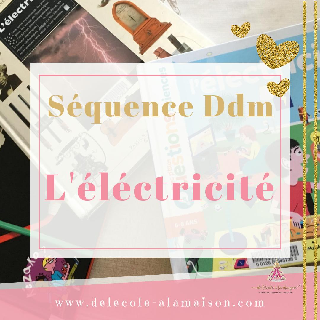DDM – L'électricité supports et activités