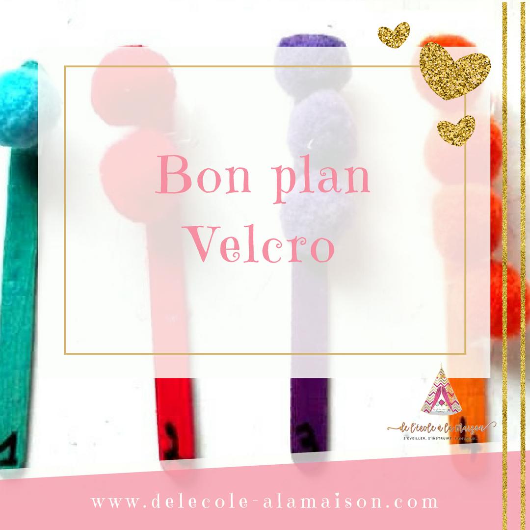 Bon plan Velcro