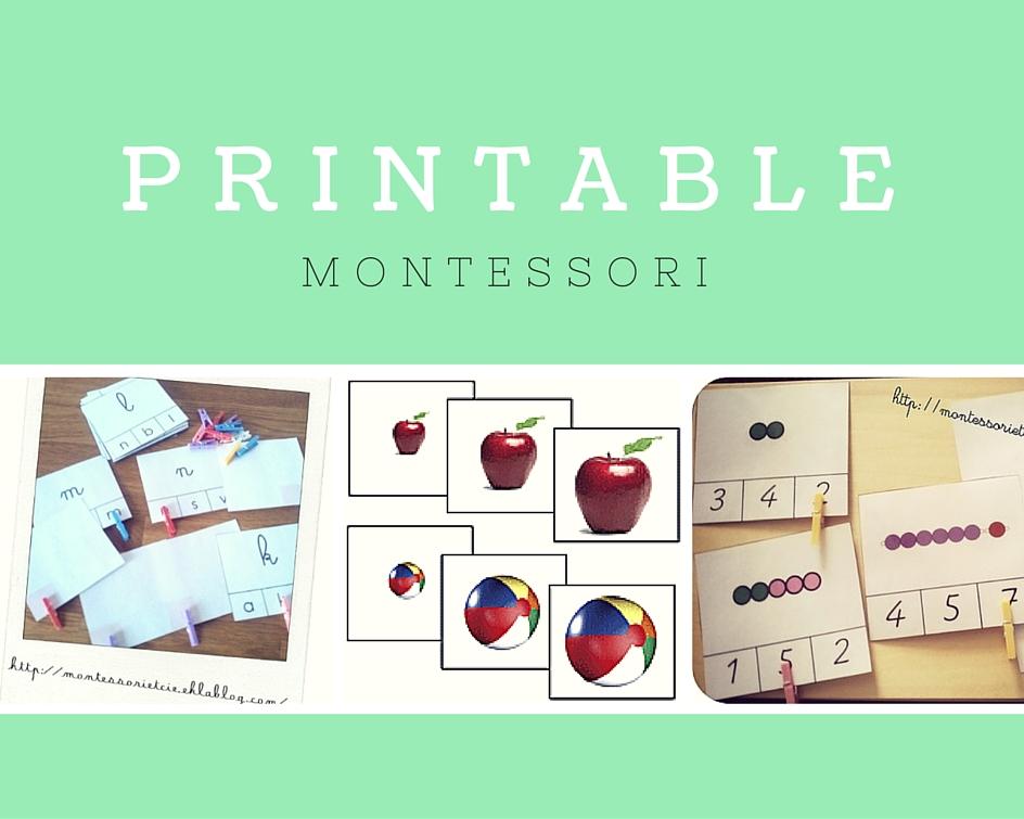 #1 Documents Montessori – A télécharger