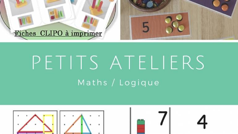 Petits ateliers maths/logique