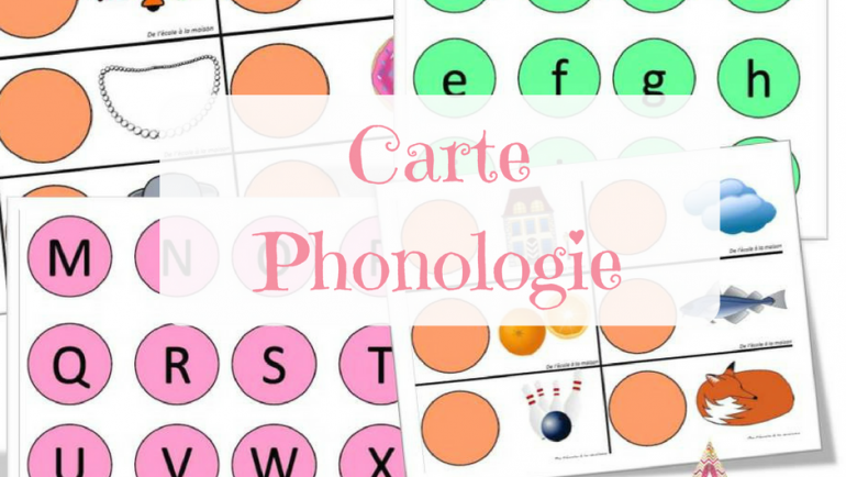 Cartes phonologie