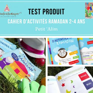 Cahier d'activités Ramadan pour les 2-4 ans by Petit Alim!