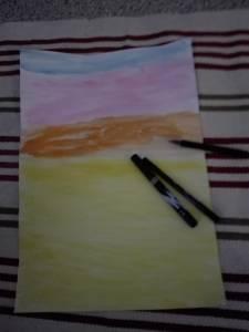 maroc aquarel