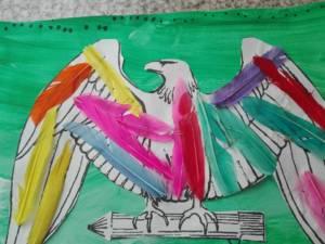 aigle plume