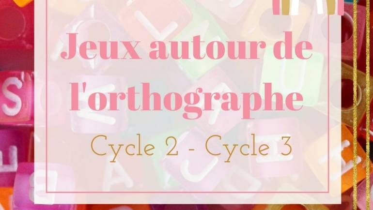 Les exercices d'orthographes